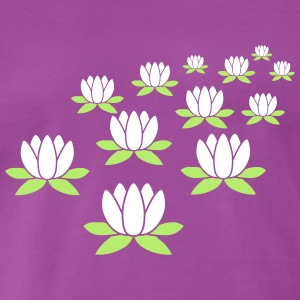 Lotus flowers T-Shirts - Men's Premium T-Shirt