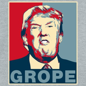 Trump Grope Poster T-Shirts - Unisex Tri-Blend T-Shirt by American Apparel