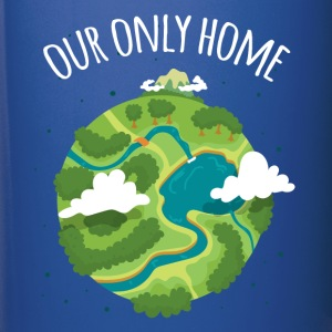 Our Only Home Ecology T-shirt Mugs & Drinkware - Full Color Mug