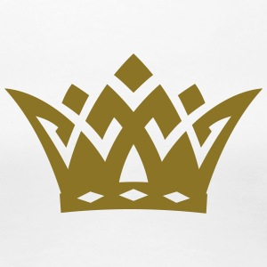 crown - king T-Shirts - Women's Premium T-Shirt
