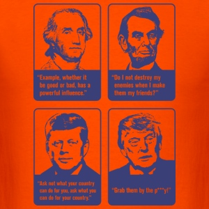 Donald Trump 'Grab Them By The Pussy' T-shirt - Men's T-Shirt