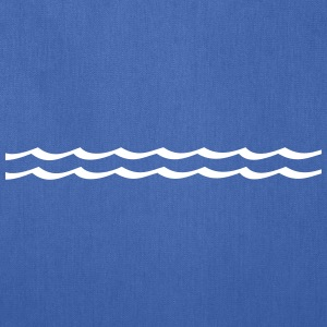 Waves - water Bags & backpacks - Tote Bag