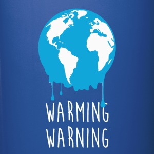 Warming Warning Ecology T-shirt Mugs & Drinkware - Full Color Mug