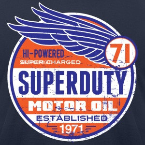 Superduty oil - Men's T-Shirt by American Apparel