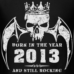 born_in_the_year_201322 T-Shirts - Men's T-Shirt
