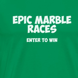 Epic Marble Races T-Shirt - Men's Premium T-Shirt