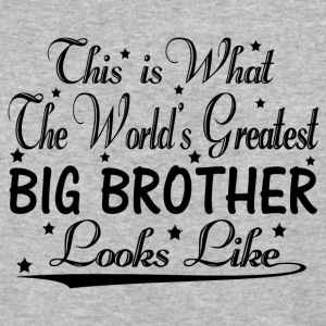 World's Greatest Big Brother... T-Shirts - Baseball T-Shirt
