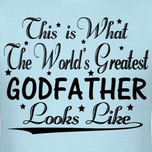 World's Greatest Godfather... T-Shirts - Men's T-Shirt
