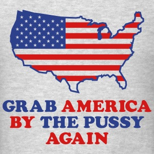 Grab America By The Pussy T-Shirts - Men's T-Shirt