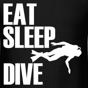 EAT SLEEP DIVE2.png T-Shirts - Men's T-Shirt