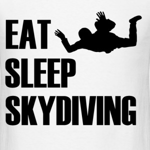 EAT SLEEP SKYDIVING1.png T-Shirts - Men's T-Shirt