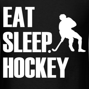 EAT SLEEP HOCKEY2.png T-Shirts - Men's T-Shirt