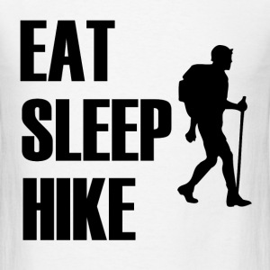 EAT SLEEP HIKE1.png T-Shirts - Men's T-Shirt