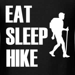EAT SLEEP HIKE2.png T-Shirts - Men's T-Shirt