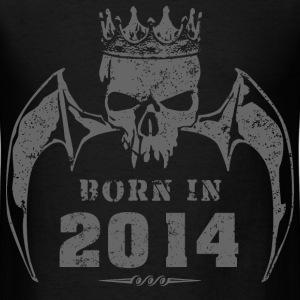 born_in_the_year_201427 T-Shirts - Men's T-Shirt