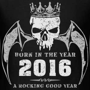 born_in_the_year_201602 T-Shirts - Men's T-Shirt