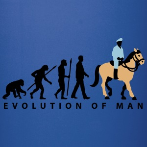 evolution_cop_on_horse_09_201601_3c Mugs & Drinkware - Full Color Mug