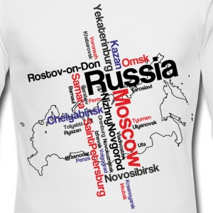 Russia Long Sleeve Shirts - Men's Long Sleeve T-Shirt by Next Level