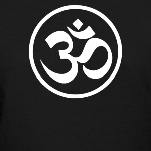 Ohm Aum Um Yoga - Women's T-Shirt