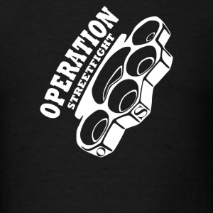 operation streetfight  Hools Hooligan Boxen Fight - Men's T-Shirt