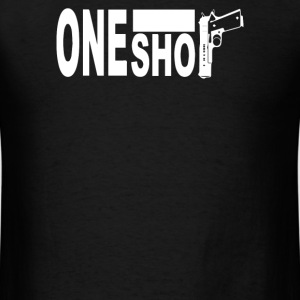 One shot  9mm Fight - Men's T-Shirt