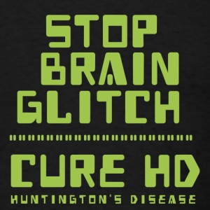 Stop Brain Glitch - tshirt - Men's T-Shirt