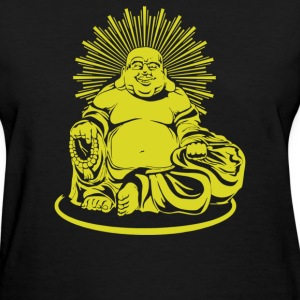Happy Buddha - Women's T-Shirt
