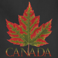 Design ~ Canada Aprons Beautiful Autumn Maple Leaf Souvenir Aprons