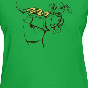 Hot Dog Dog - Women's T-Shirt