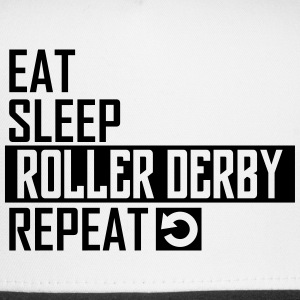 eat sleep roller derby Sportswear - Trucker Cap