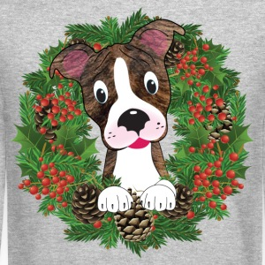 Christmas Pit Bull Long Sleeve Shirts - Crewneck Sweatshirt