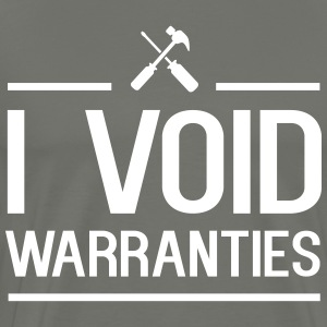 I void warranties T-Shirts - Men's Premium T-Shirt