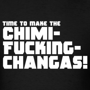 Deadpool - Chimichangas - Men's T-Shirt