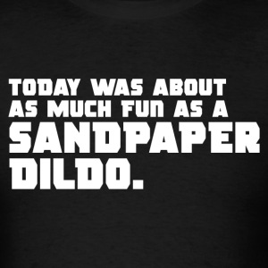 Deadpool - Sandpaper Dildo - Men's T-Shirt