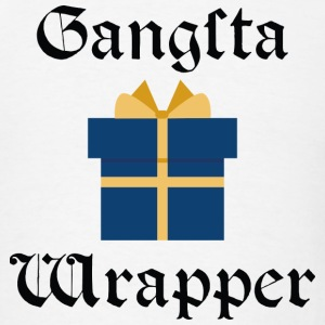 Gangsta Wrapper - Men's T-Shirt
