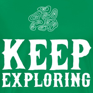 Keep Exploring T-Shirts - Men's Premium T-Shirt