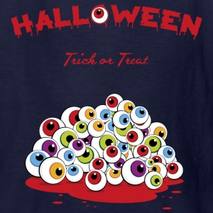 Halloween Trick or Treat Eyeballs Kids' Shirt - Kids' T-Shirt