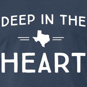 Texas. Deep in the Heart T-Shirts - Men's Premium T-Shirt