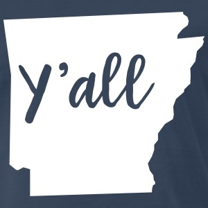 Y'all Arkansas T-Shirts - Men's Premium T-Shirt