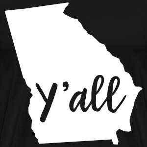 Y'all Georgia T-Shirts - Men's Premium T-Shirt