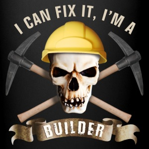 builder_pick_skull_c Mugs & Drinkware - Full Color Mug