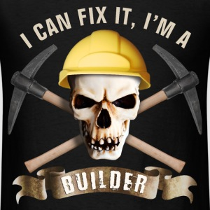 builder_pick_skull_c T-Shirts - Men's T-Shirt