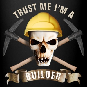 builder_pick_skull_b Mugs & Drinkware - Full Color Mug