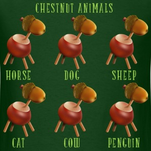 chestnut_animals_10_201603 T-Shirts - Men's T-Shirt