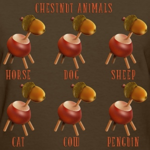 chestnut_animals_10_201602 T-Shirts - Women's T-Shirt