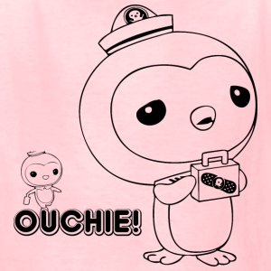 Penguin Ouchie! - Kids' T-Shirt