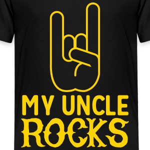 My Uncle Rocks Baby & Toddler Shirts - Toddler Premium T-Shirt