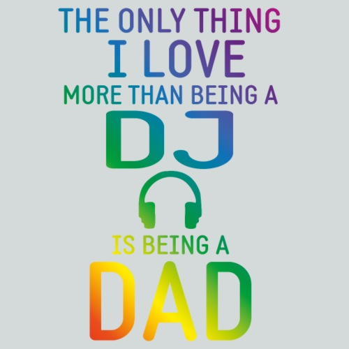 dj and dad rainbow