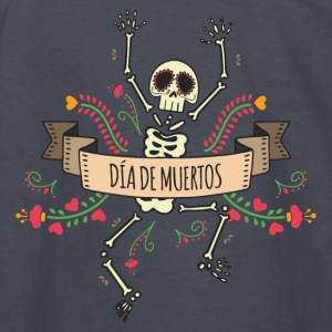 Day of the Dead Skeleton Kids' Shirts - Kids' Long Sleeve T-Shirt