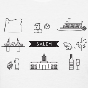 Salem Icons T-Shirts - Women's T-Shirt